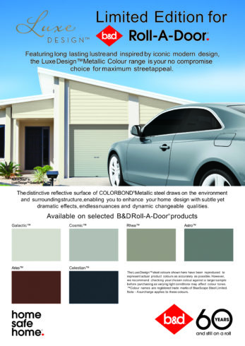Luxe Design Roll-A-Door
